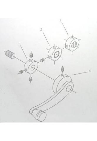 Ablaktekerő MT0534S